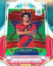 2020 Panini Select UEFA EURO Axel Witsel Green Prizm 5/5 Belgium SSP!