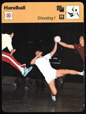 1978 Sportscaster Card Handball Team Shooting 1 # 29-19 NRMINT/MINT.
