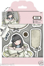 Docrafts Papermania urban rubber stamp set Santoro's Gorjuss Sweet tea