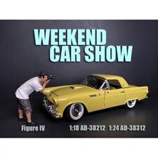 American Diorama 38212 Weekend Car Show Figure 4 Fotograf 1:18 Figur 1/1000