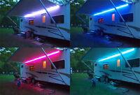 RGB Farbwechsel LED-Licht 12V DC Wohnwagen Wohnmobil Außenbeleuchtung F45 F65
