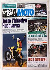 LVM - La Vie de la Moto n°312 du 1/4/2002; Toute l'histoire Husqvarna/ Chapleur
