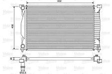 VALEO Engine Cooling Radiator Fits AUDI A4 Avant Cabrio A6 8E SEAT 2000-