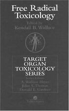 Free Radical Toxicology (Target Organ Toxicology Series)-ExLibrary