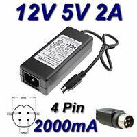 Adaptateur Secteur Alimentation Chargeur 24V 3 PIN pour Imprimante Tickets EPSON TM-T20II TM T20II C31CD52003 TOP CHARGEUR