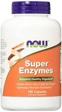 NOW FOODS, SUPER ENZYMES 180 Kapseln Supports Healthy Digestion MENGENRABATT