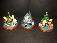 Bradford Editions The Simpson's Christmas Ornaments Set of (3)