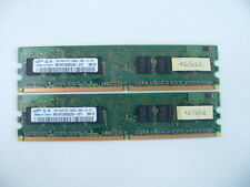 2 x 1Go DDR2-800 / PC2-6400 - Samsung (16502) !