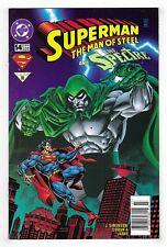 SUPERMAN THE MAN OF STEEL #54 & 79 DC COMIC BOOK LOT Spectre 1996-98 newsstand