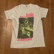 RARE! Vintage BUTTHOLE SURFERS Tour T-Shirt North America tour  XL