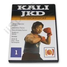 Ted Lucaylucay Kali Escrima Jeet Kune Do Jkd Dvd #1 angles attack weapons new
