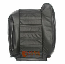 2003 2004 2005 06 H2 Driver Side Lean Back Replacement Leather Seat Cover Black