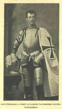 Archduke Eugen Of Austria 1894 Teutonic Knights Habsburg 7x4 Inch Reprint Photo