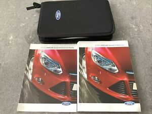 Ford Focus Mk3 5 Door Owners Manual and Wallet.