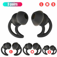3 PCS Silicone Ear Tips Ear Buds Replacement For BOSE QC30 QC20 Headphone Earbud