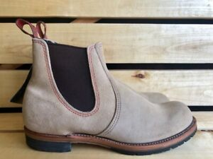 Red Wing Shoes 2919 Suede Chelsea Boots Made in Usa Size US 9.5 D UK 8.5 EUR 42