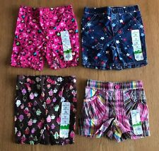 NWT - Girls 12 Months Jumping Beans Shorts/Pedal Pusher - Lot of 4