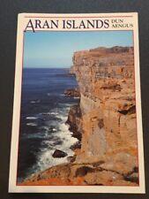 POSTCARD-UNUSED IRELAND, Co. GALWAY-THE ARAM ISLANDS-DUN AEGUS, INISMOR