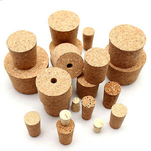 Cork Bungs for Home Made Wine or beer fit Demijohn Bottle different size UK