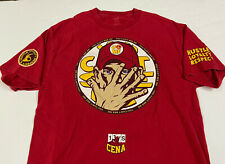 """John Cena WWE """"You Can't See Me"""" 2-Sided Shirt (Large)"""