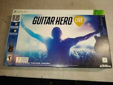 Guitar Hero Live Bundle (Microsoft Xbox 360, 2015) Brand New factory sealed