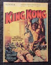 1999 Skinner Movie Posters Auction Catalog #1914 Sc Vf 8.0 104pgs King Kong