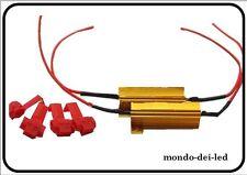 Resistenza Lampada LED 50W 6 Ohm No Spia Intermittenza