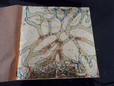 Variegated  GOLD leaf  14x14cm 45 sheets #9