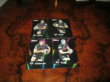 2013 NRL TRADERS PENRITH PANTHERS PARALLEL NEAR COMPLETE TEAM SET 4 CARDS