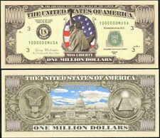 LOT OF 25 BILLS STARS & STRIPES LIBERTY MILLON DOLLAR