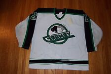 NHL QMJHL Granby Bisons game worn used Mart Belanger home 1994/95 vintage jersey