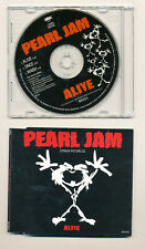 Pearl Jam Alive UK Import CD Picture Disc Slimline