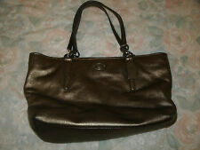 Coach gold metallic Ellis large tote