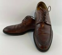 Details about  /151215 MS50 Men/'s Shoes Size 8.5 M Black Leather Lace Up Johnston /& Murphy