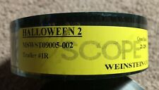 Rob Zombie's HALLOWEEN II 2 35mm Film Trailer Reel Brand New