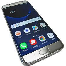 Verizon Samsung Galaxy S7 Edge 32GB Silver Titanium SM-G935V Android CRCKED, LCD
