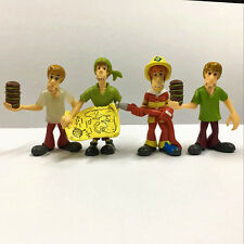 Promotion 4pcs Scooby Doo Crew Set. Mystery Mates & The Monsters Mega Figure Toy
