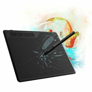 GAOMON S620 6.5 x 4 Inches Graphics Tablet with 8192 Pressure 4 Express Keys ...