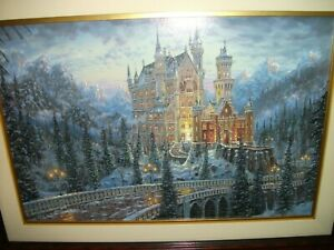 "Robert Finale Master Proof Giclée - ""Bavarian Beauty, Neuschwanstein Castle"""