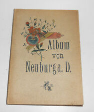 Album de Neuburg A.Danube 1895 Photo 12 Photographies Carte Postale Leporello