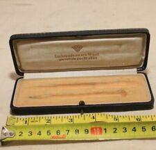 OLD WATCH BOX CASE Enchapado en oro 14 quil