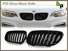 BMW Sport Look Gloss Black Front Kidney Grille For F22 220i 228i 235i 2014-2017