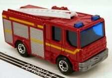 Matchbox Dennis Sabre Fire Truck Engine Red w/Whte Ladder NoNumber 1:96 Scale