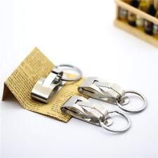 Heavy Duty Military Survivor Security Belt Clip Key Chain Blueshy
