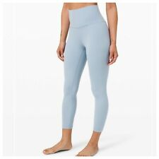 """Lululemon ALIGN High Rise Crop 23"""" - Chambray - Size 4 - NWT!"""