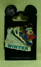Disney Four Seasons Collection Mickey Mouse Winter Pin