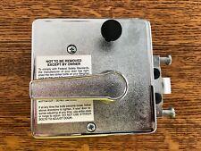 NOS BARGMAN L-300 Motorhome Door Latch Lock Handle Vintage Airstream Chrome