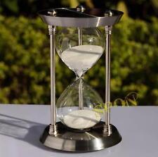 30 minutes White Sand Clock Hourglass Sandglass Sand Timer to home birthday gift