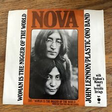 John Lennon Woman Is The N**er Of The World Apple 1848 W/PS! Beatles Near Mint!