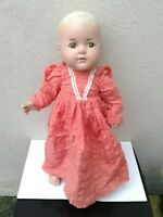 """VINTAGE AMERICAN COMPOSITION MADAME ALEXANDER TODDLER DOLL APPROX  16"""" TALL"""
